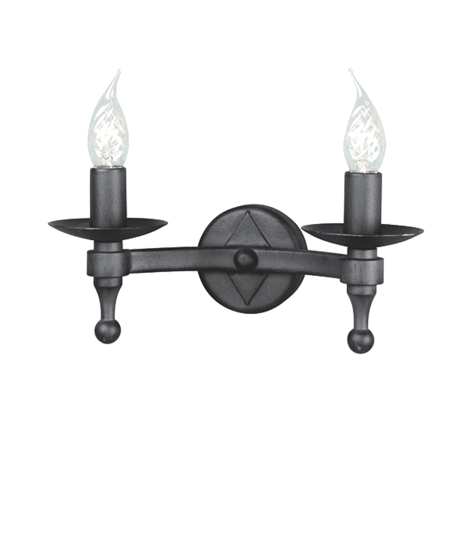 Double Wall Lights Bhs : Medieval Style Double Wall Light