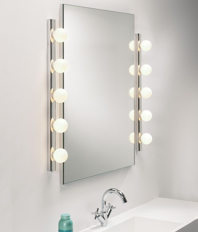Bathroom mirrors with lights lastest gray bathroom mirrors with lastest bathroom mirror side lights bathroom lighting over mirror aloadofball