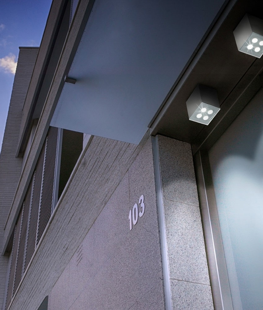 Surface mounted cube led downlight ip65 - Exterior surface mounted light fixtures ...
