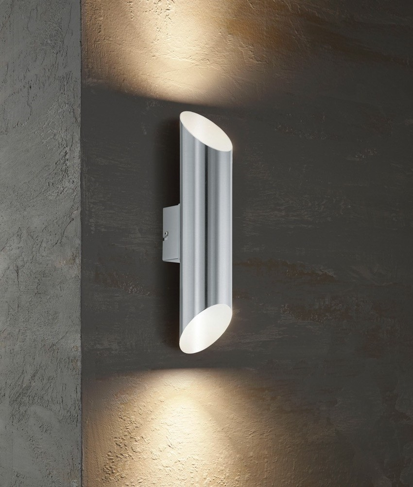 Slim Led Exterior Up Down Wall Light