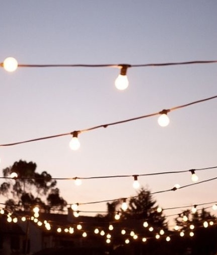 Traditional Festoon String Lights 20 E27 Mains Lamps