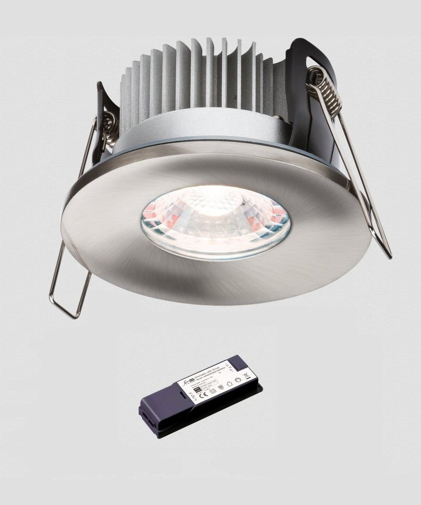 fixed low profile advanced led fire rated downlight ip65 rated. Black Bedroom Furniture Sets. Home Design Ideas