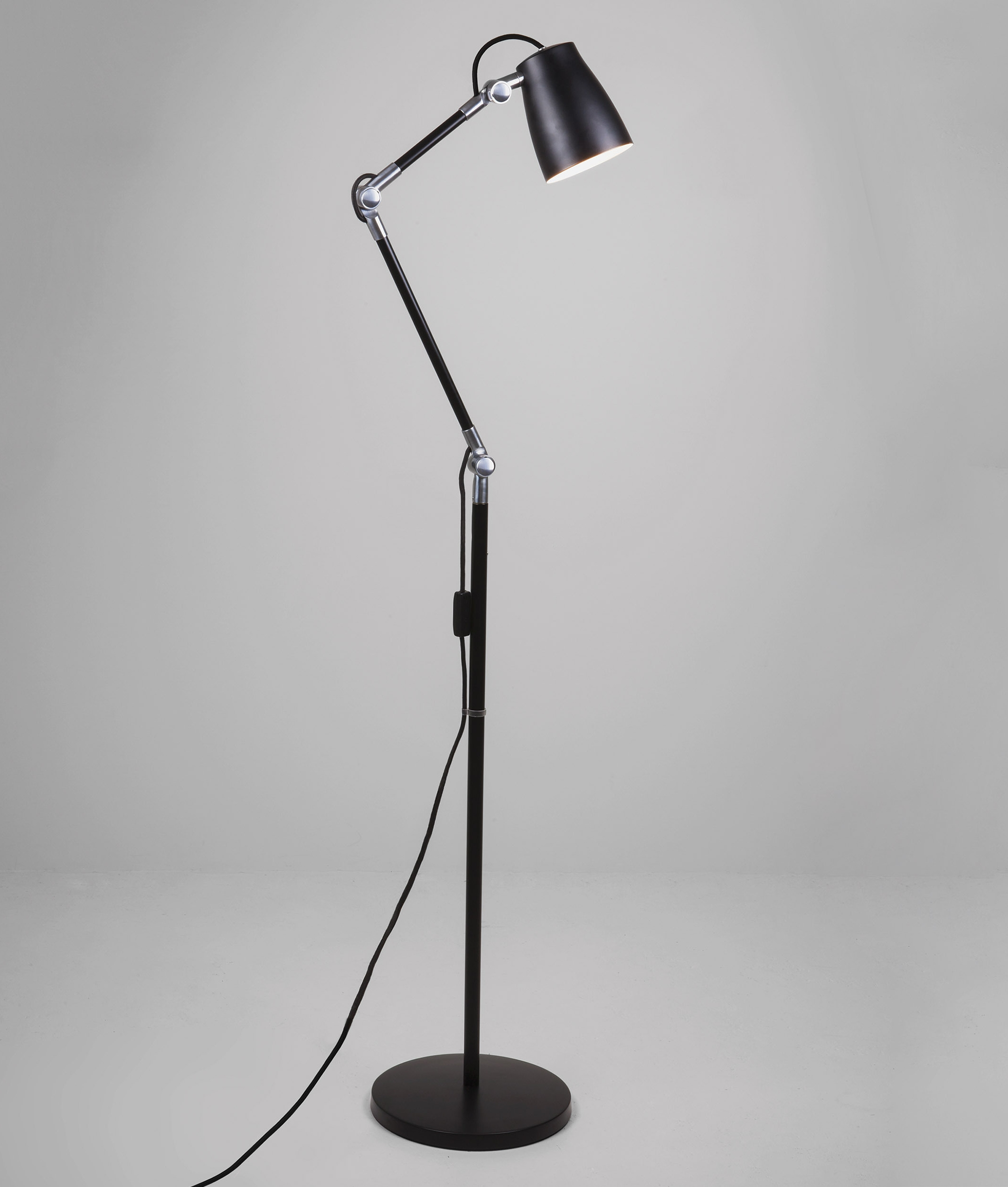 Adjustable Contemporary Floor Lamp 3 Colours