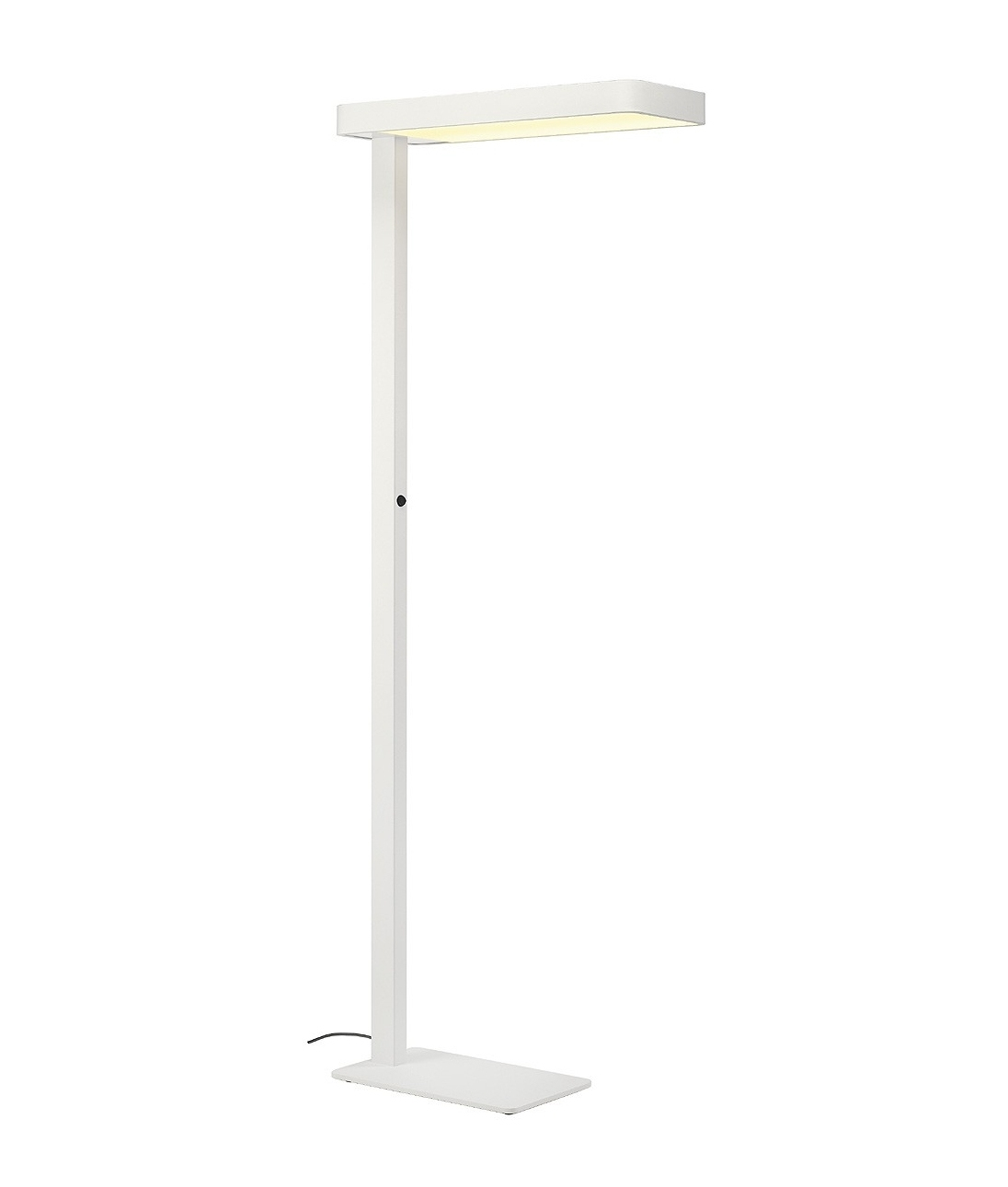 Stylish free standing floor light for workstations for Free standing