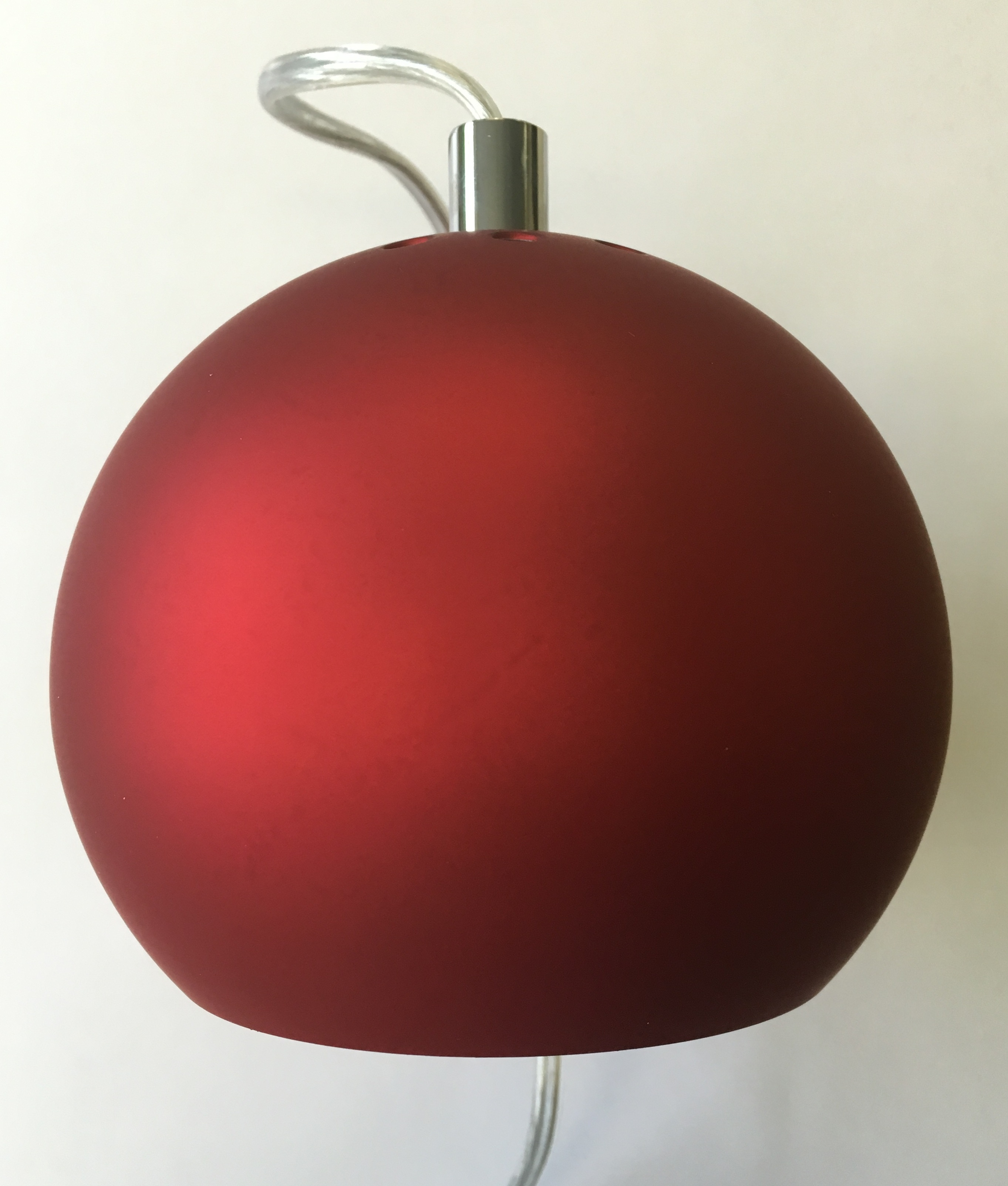 Giraffe  Light Floor Lamp Red Glass Shades
