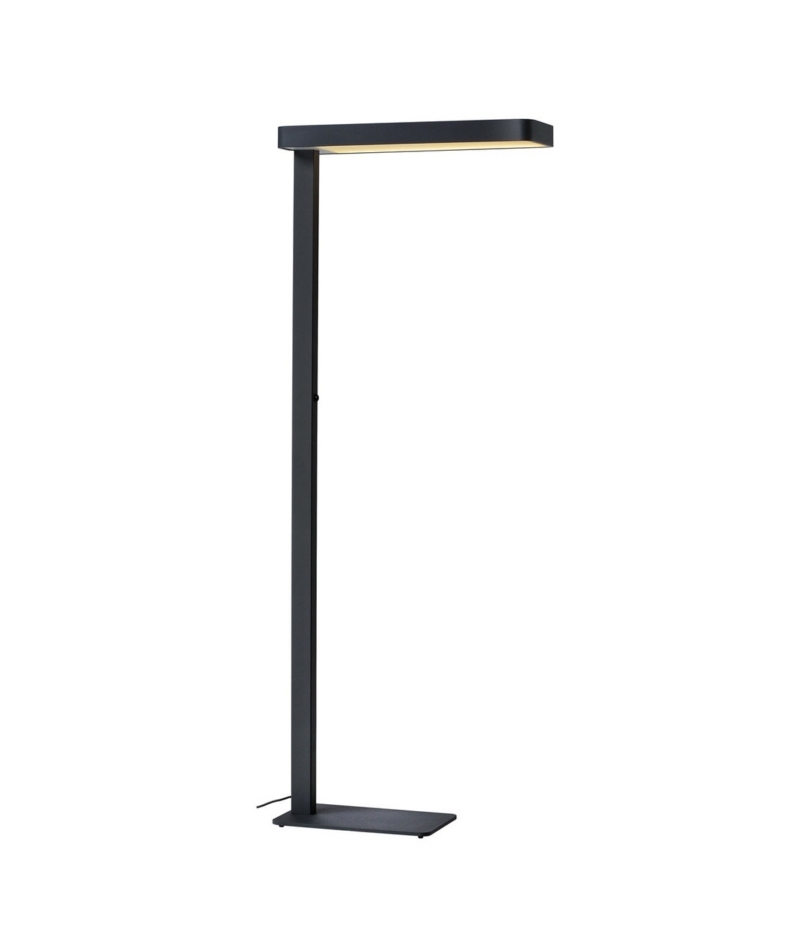 stylish free standing floor light for workstations. Black Bedroom Furniture Sets. Home Design Ideas