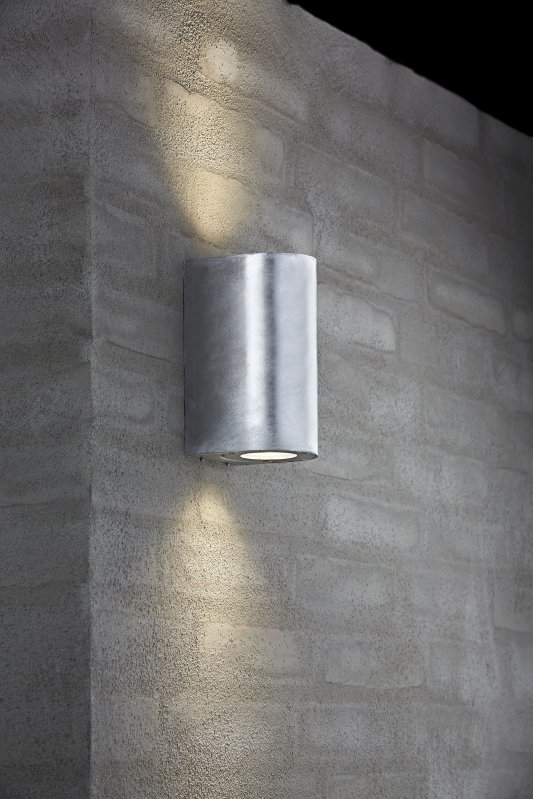 Exterior Gu10 Base Wall Light With Adjustable Filters