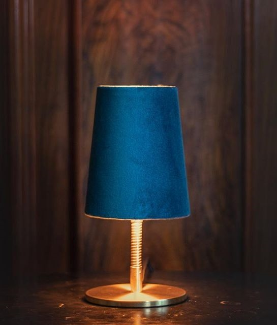 Delightful Upgrades 25 Creative Bedside Lighting Ideas: Shaded Adjustable Table Lamp From Edgar Home In Berlin