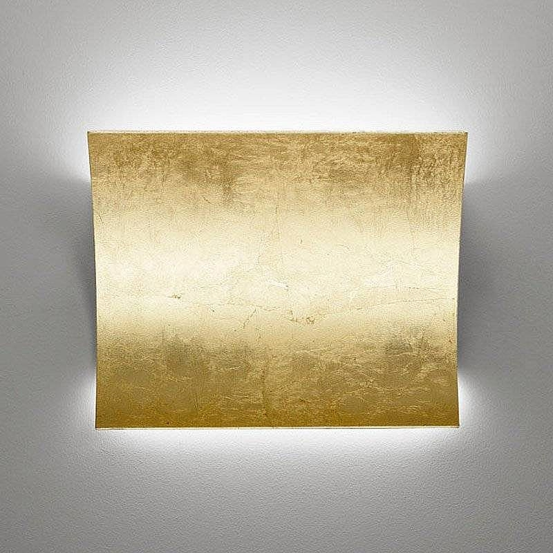 LED Up & Down Silver Leaf Wall Light