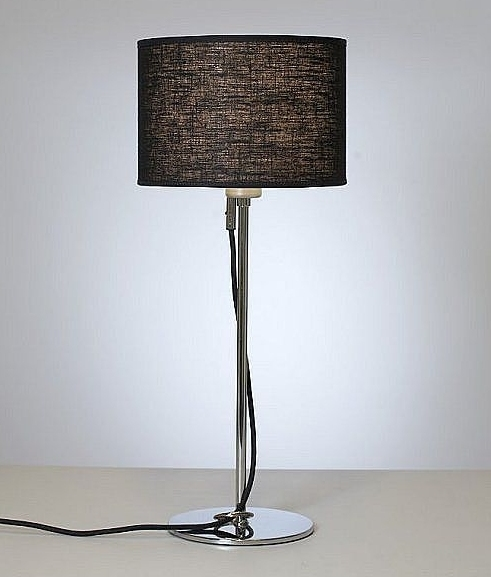 Pretty posh chrome table lamps from belid four colours shade option hover to zoom greentooth Images