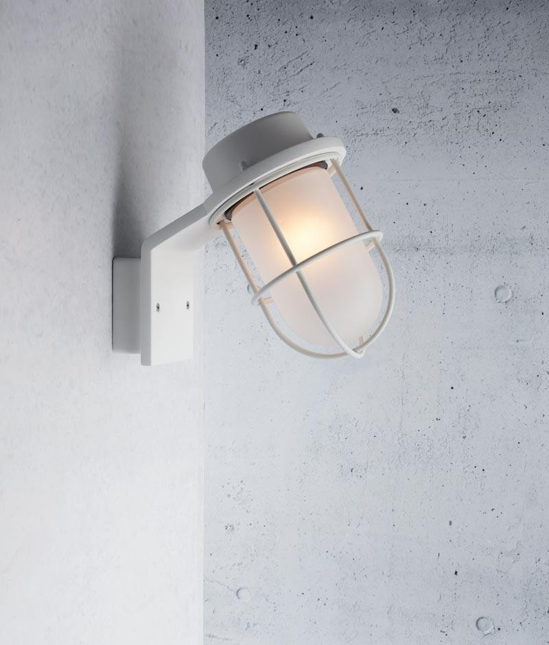 Marine Styled Wall Light For Bathroom Or Garden Installation