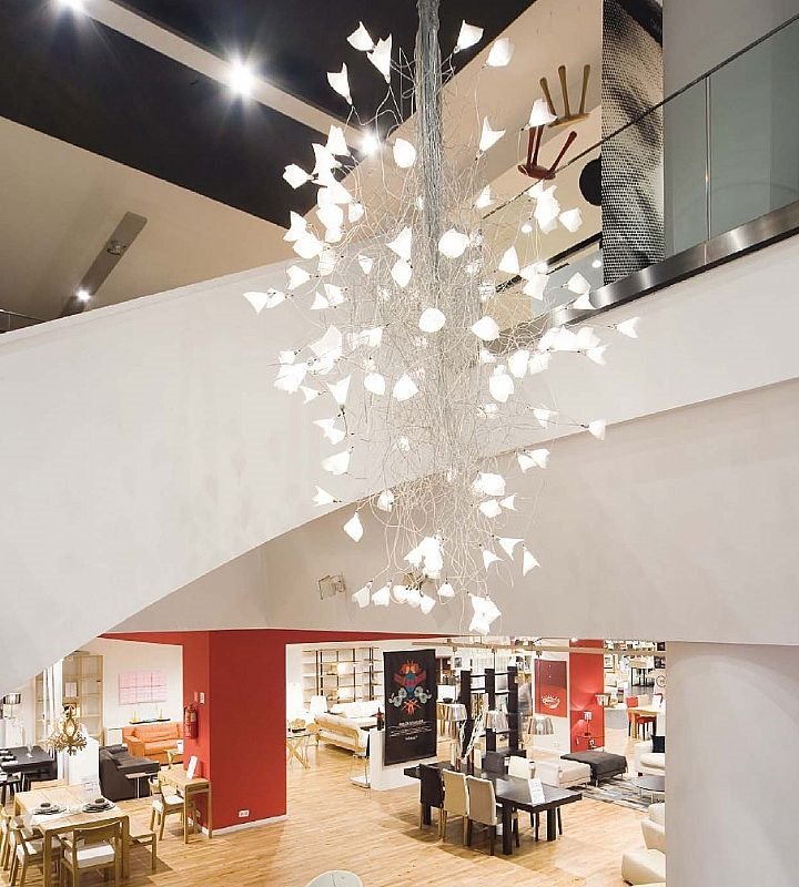 Jogg Chandelier In 5 Sizes With Led Lamps