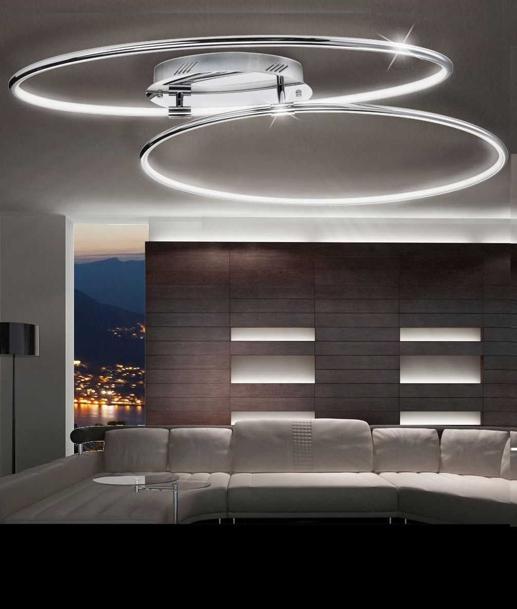 double ring led light dia 900mm. Black Bedroom Furniture Sets. Home Design Ideas