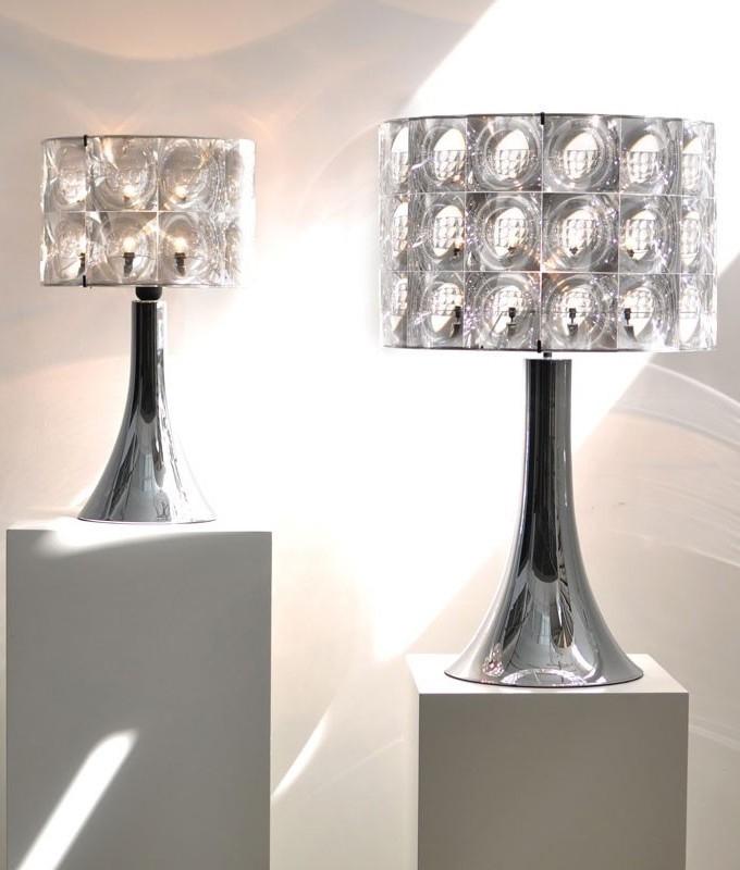 Fresnel Lens Refracting Table Lamp