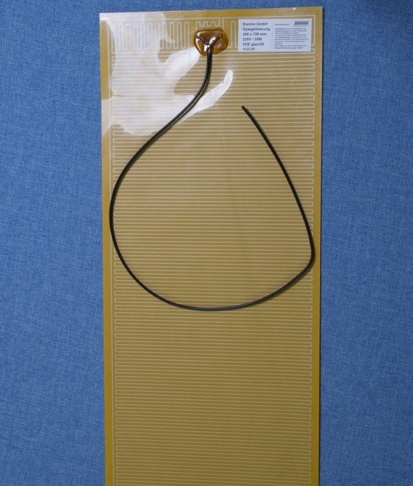 heated demister pad 35 watts measuring 700mm x 300mm. Black Bedroom Furniture Sets. Home Design Ideas