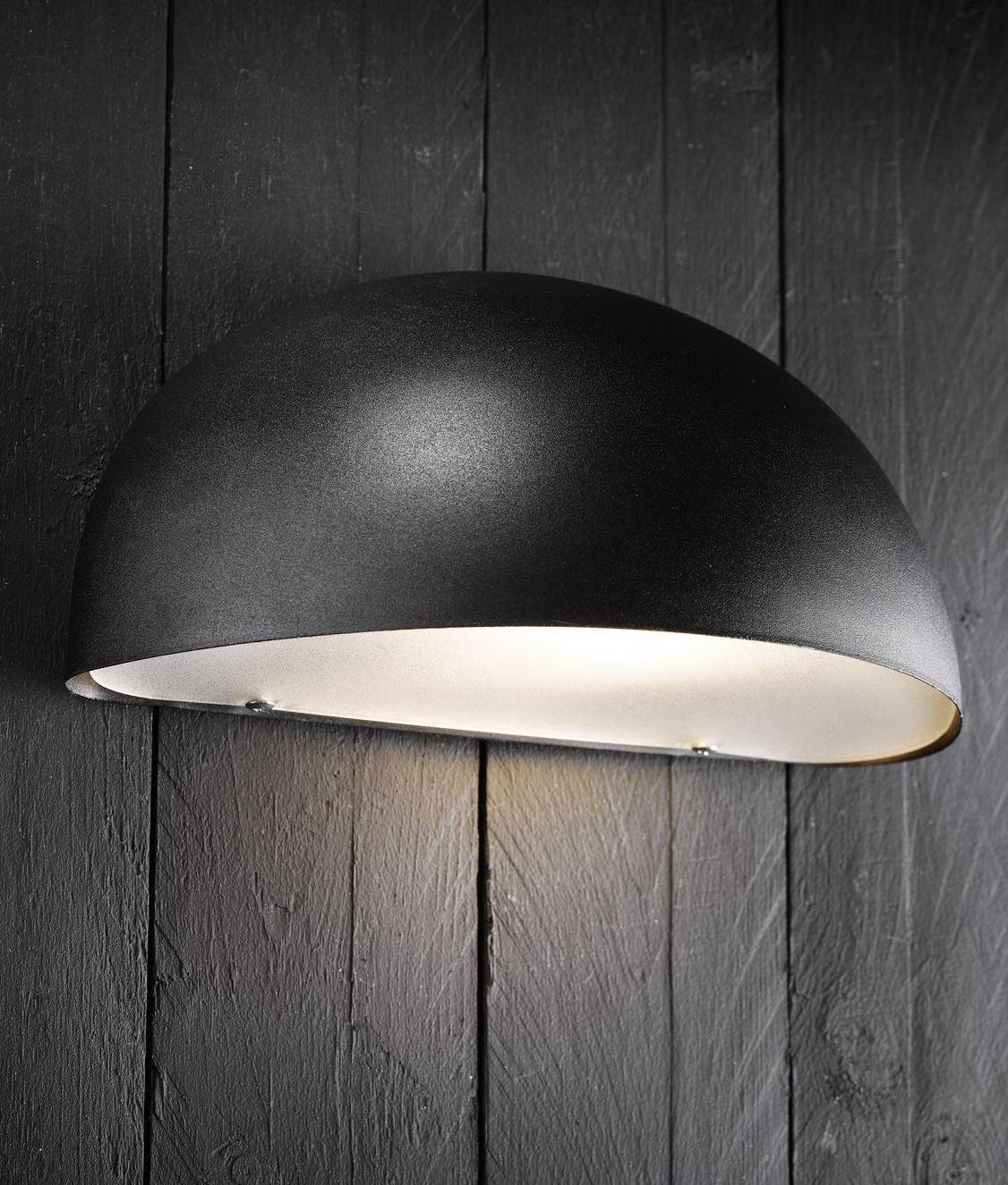 Low Glare Exterior Wall Light 4 Finishes