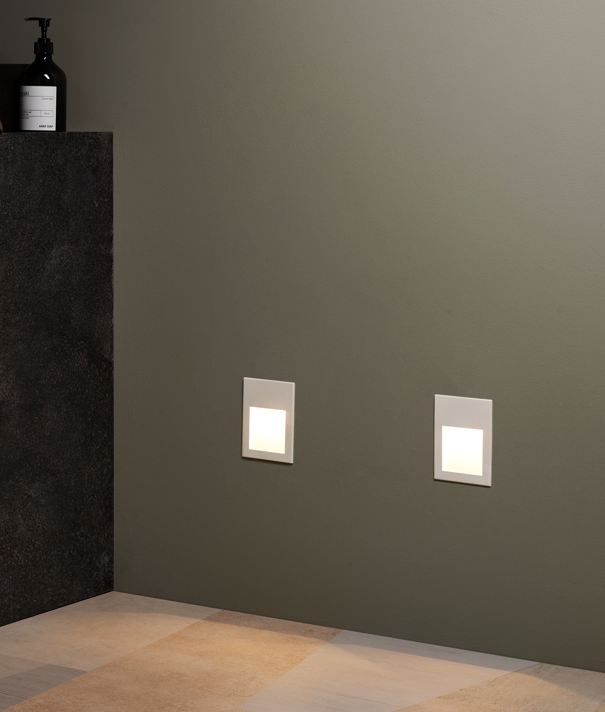 Low Level Guide Light Wall Recessed And Led