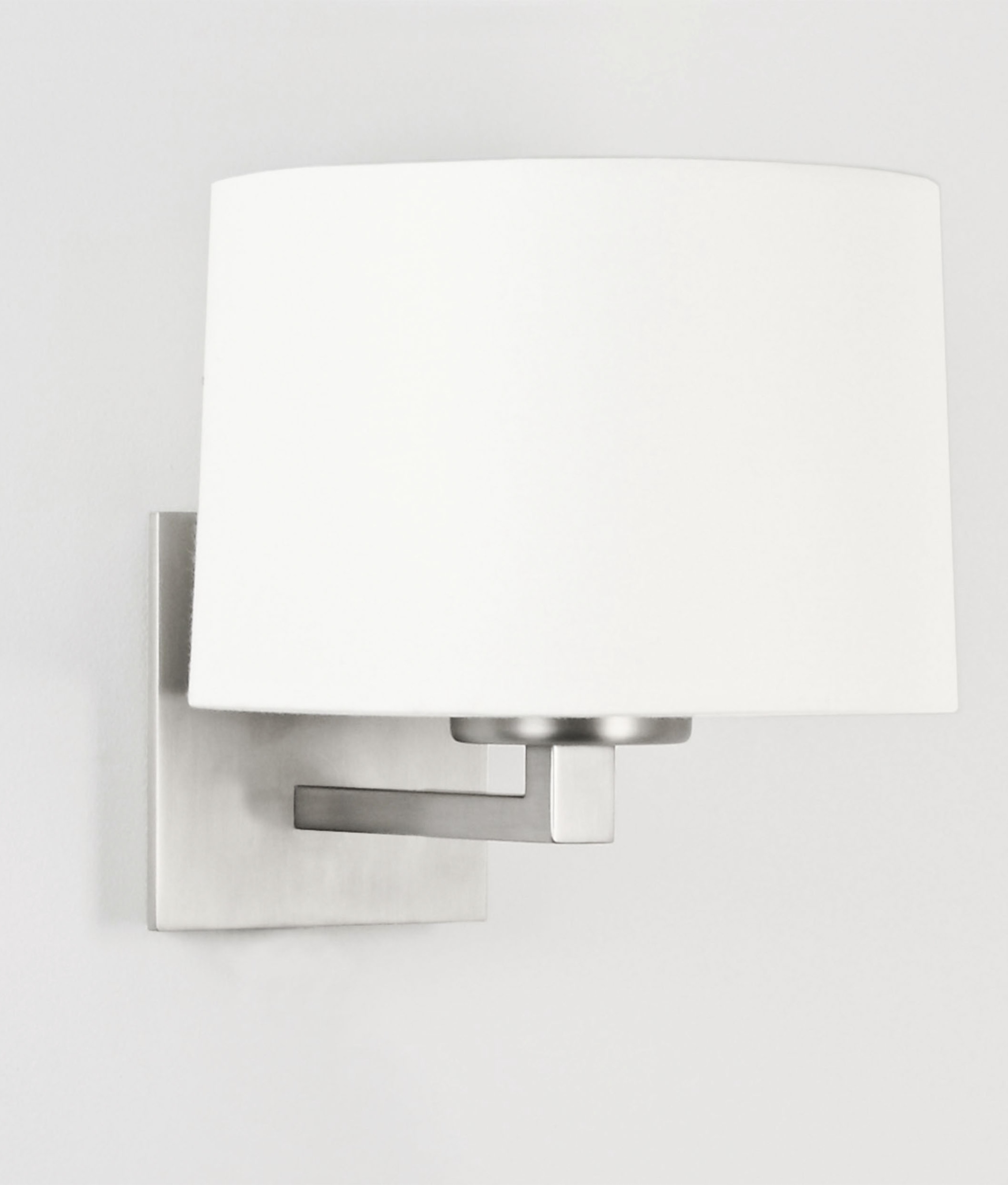 Fixed Wall Bracket With Choice Of Finish Plus Shade Options