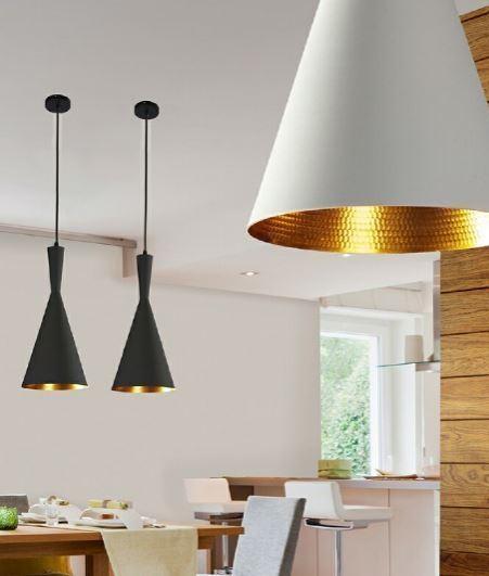 Cone Single Metal Pendant Led Lamp