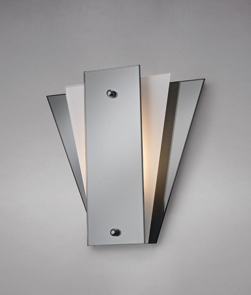 Art Deco Mirror Amp Glass Wall Light