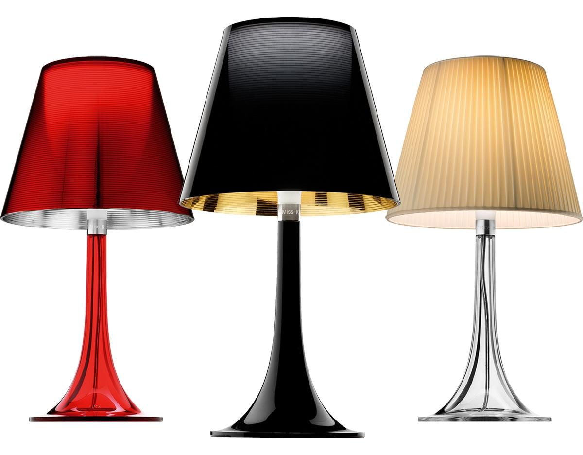 flos miss k table lamp by flos. Black Bedroom Furniture Sets. Home Design Ideas