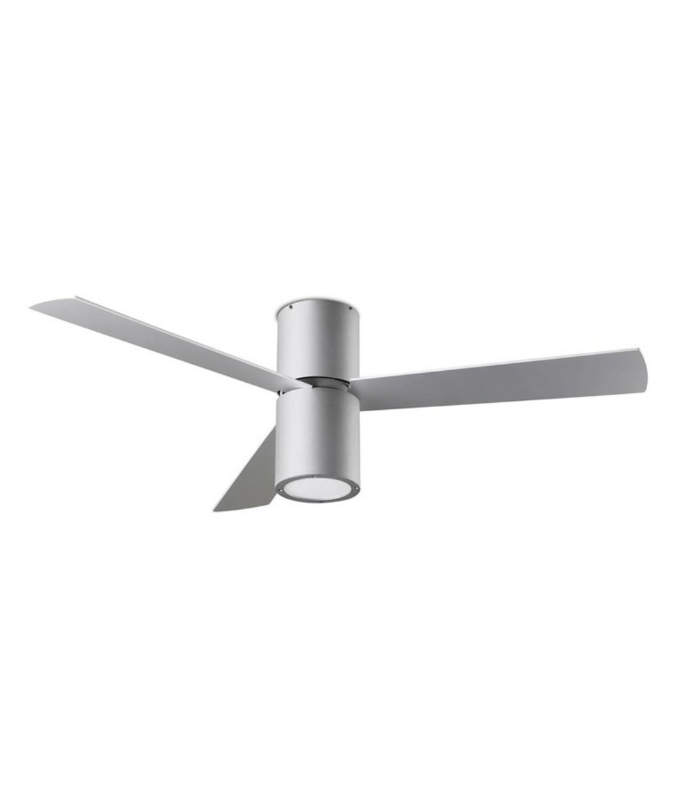 Slim And Trendy Ceiling Fan In Two Finishes And With