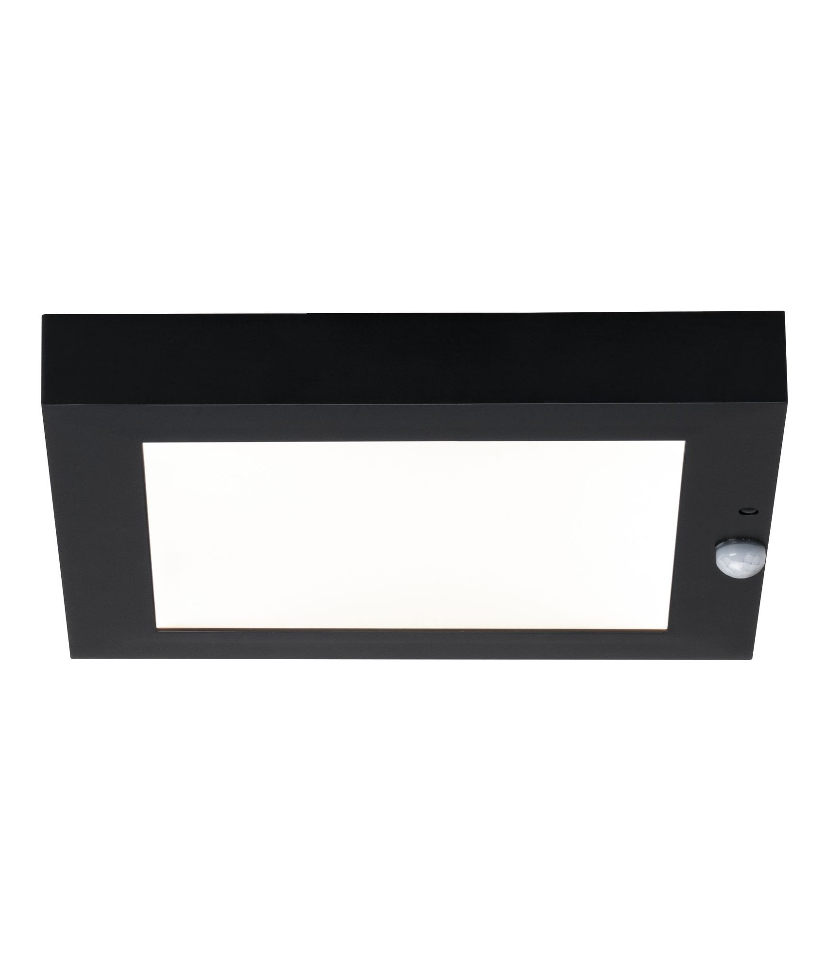 Square Led Exterior Wall Light With Motion Sensor