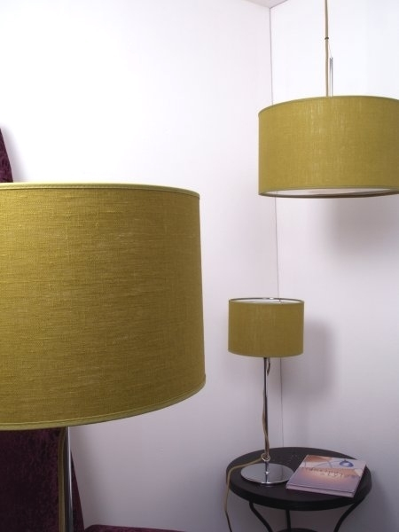 Pretty Posh Chrome Table Lamps From Belid Three Colours