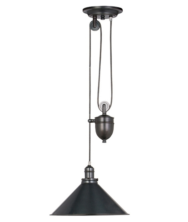 French Style Pendant With Rise And Fall Mechanism