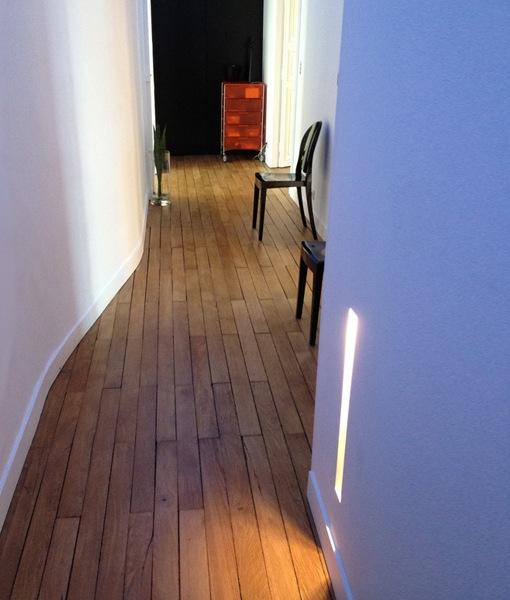 Slot XL5 LED Plaster Wall Light. Recessed Plaster Lighting & LED Plaster Wall Light Slot XL5