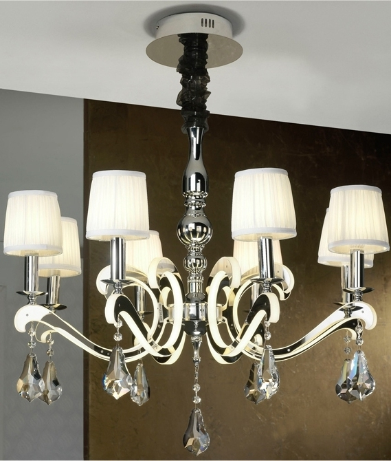 Wonderful Chandelier Pleated Shades Gallery - Chandelier Designs ...
