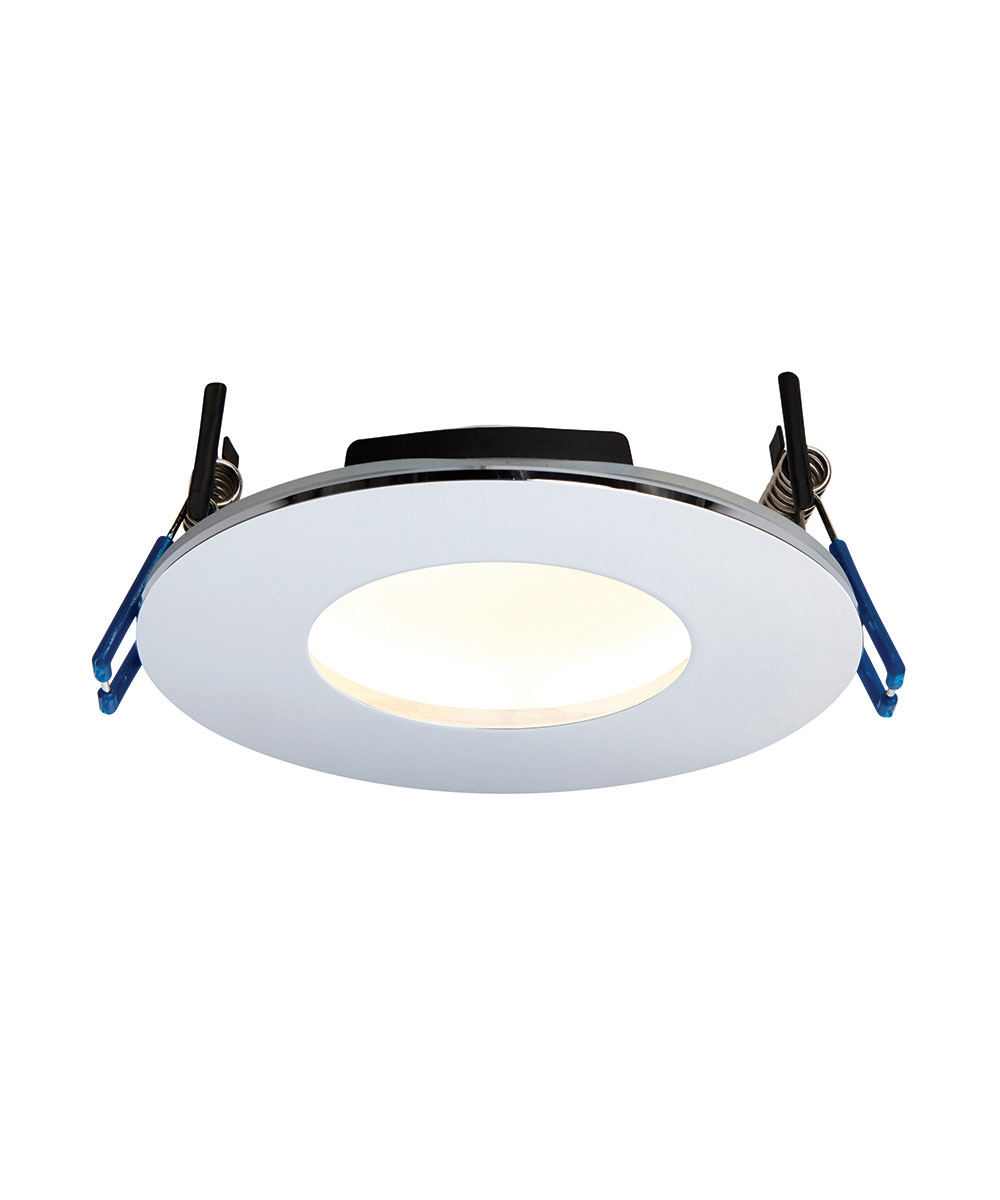 official photos d145f b434a Low-Glare Dimmable LED Bathroom Downlight - Chrome