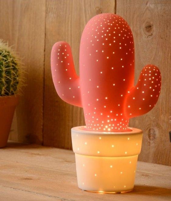 Ceramic Cactus Table Lamp