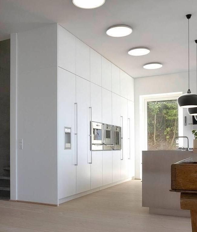 Led Shallow Profile White Ceiling Light