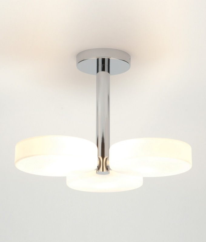 Simple And Sleek Bathroom Ceiling Light