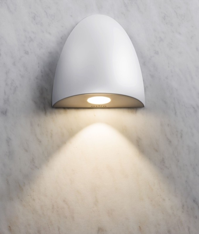 Recessed led bathroom ip65 wall light bathroom semi recessed low level light for wet areas mozeypictures Choice Image