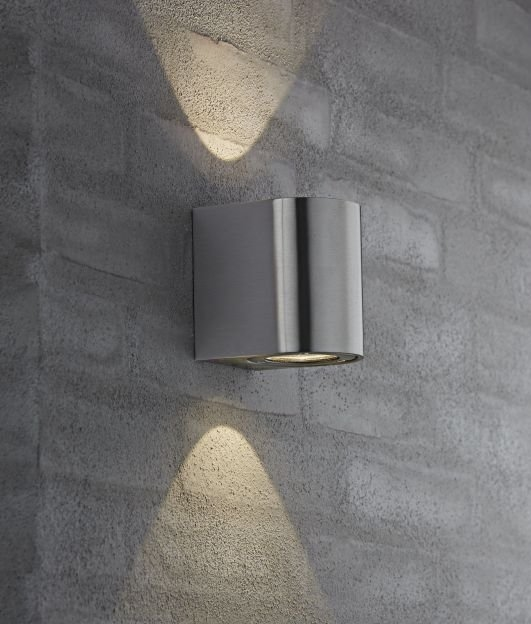 Bright Outdoor Wall Lights : Very Funky Filtered Wall lights in Five Finishes