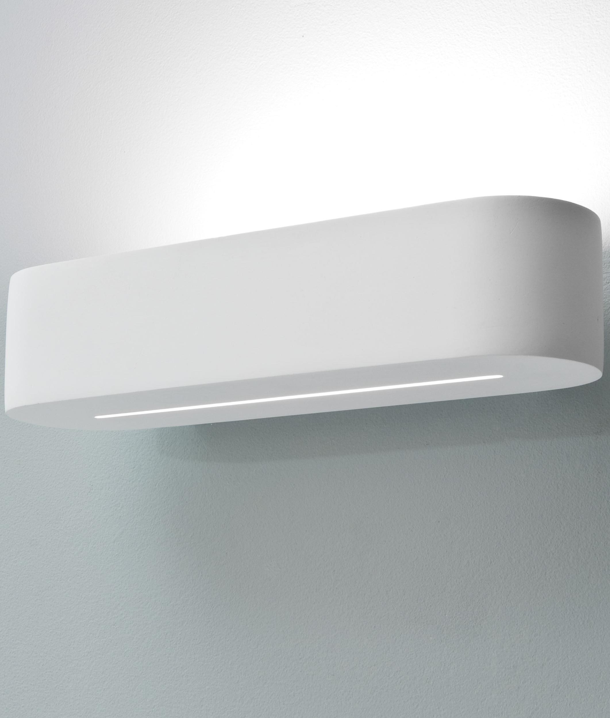 Small Solar Wall Lights : Pinslot Low Energy Uplight - Small 300mm
