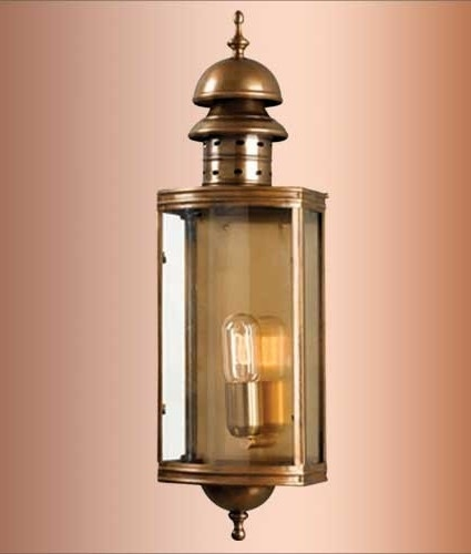 Period Exterior Lantern - Two Finishes