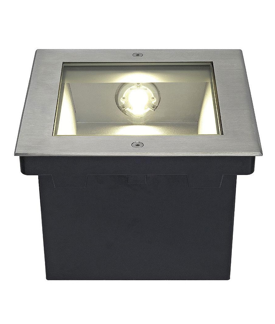 Buried Square Led Asymmetrical Uplight With Led Lamp