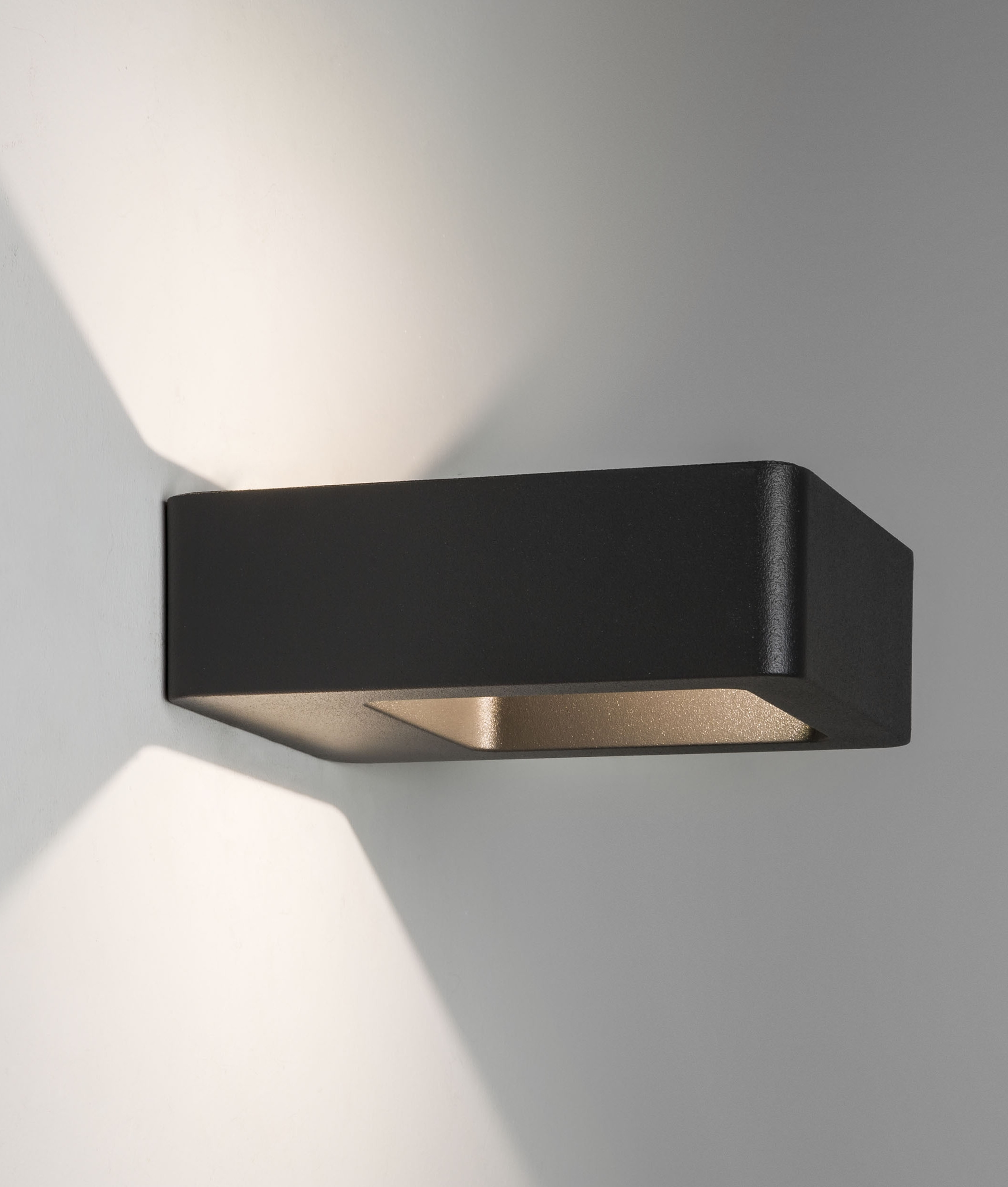 Exterior Zero Glare Up Amp Down Wall Light