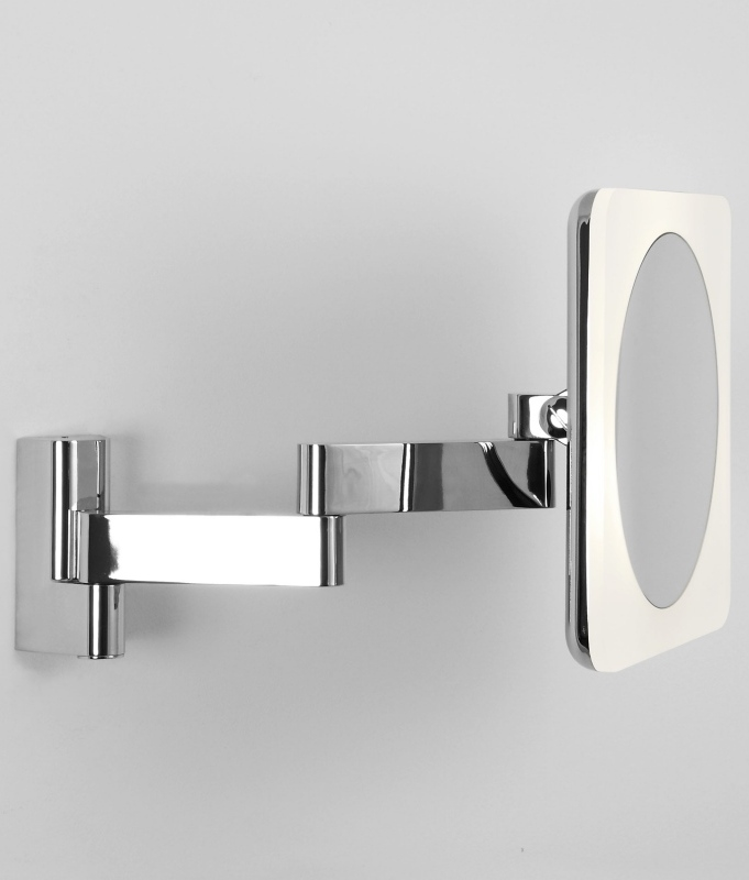 adjustable bathroom mirrors chunky framed square vanity mirror 230mm 10070