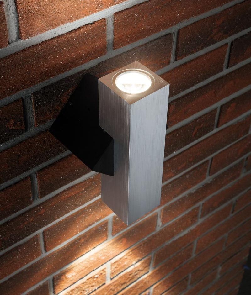 Exterior Lighting: Chunky Angular And Compact Exterior Up
