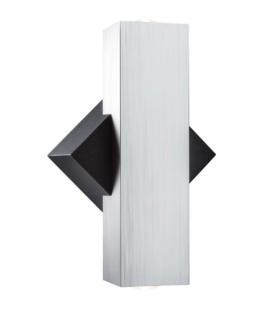 Chunky angular and compact exterior wall wash light mozeypictures Choice Image