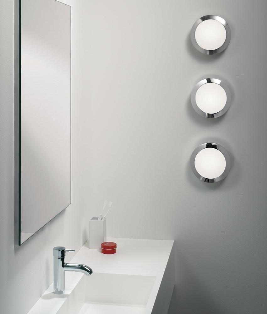 Energy Saving Bathroom Ceiling Lights energy saving gx53 polished chrome light