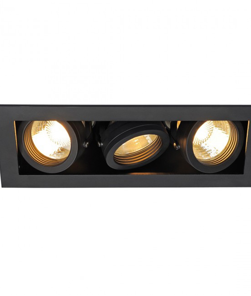 Adjustable Recessed Downlights Single Double And Triple