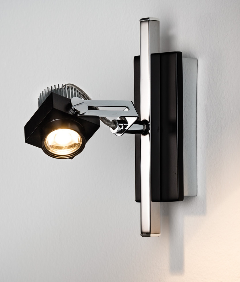 Ultra Modern Wall Sconces : LED Adjustable Wall Spot Light