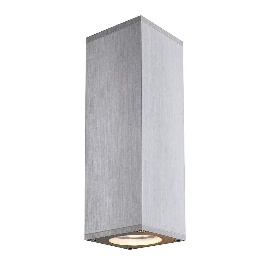 Square Up and Down IP44 Wall Light H:225mm