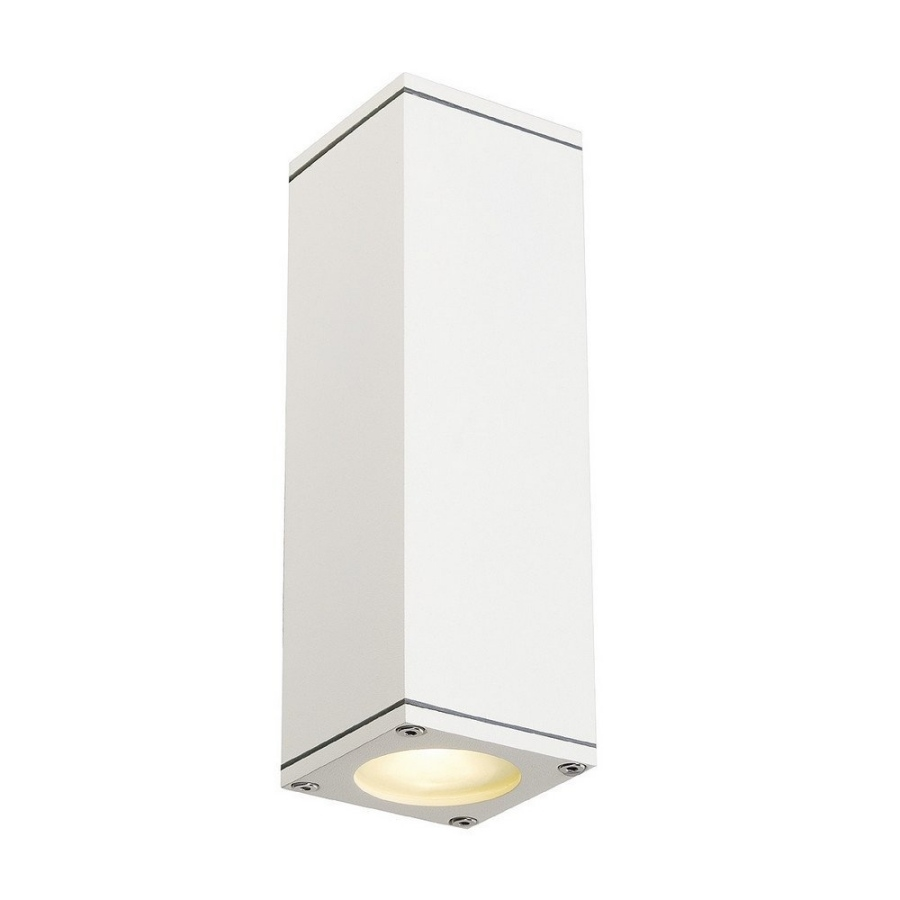 Narrow Square Up Amp Down Ip44 Wall Light
