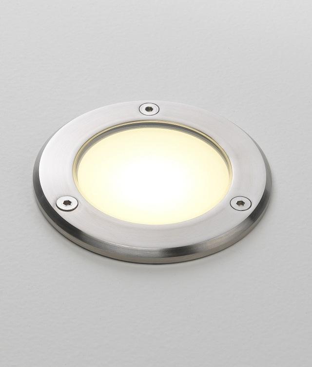 Stainless Steel LED Exterior Ground Light
